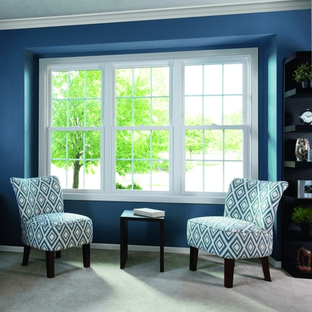 250 series double-hung 3 wide double-hung